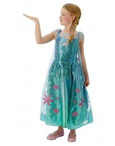 Disfraz de Elsa Frozen Fever para niña