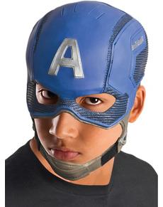 Máscara de Capitán América para niño
