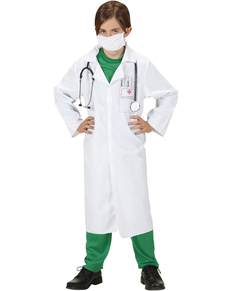 Disfraz de doctor de urgencias para niño