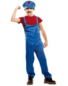 Disfraz de fontanero salvador para niño