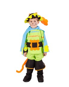 Disfraz de gato con botas para niño