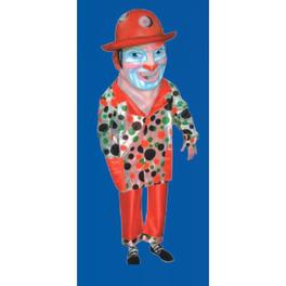 Cabezudo adulto clown
