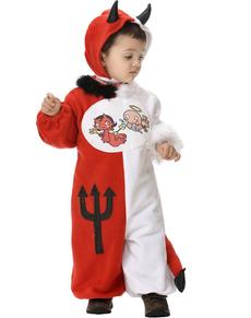Disfraz de ángel y demonio bebé