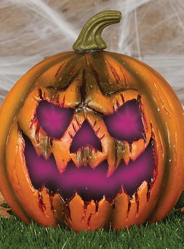 Decoracin de Halloween cuando el miedo llamar a tu puerta